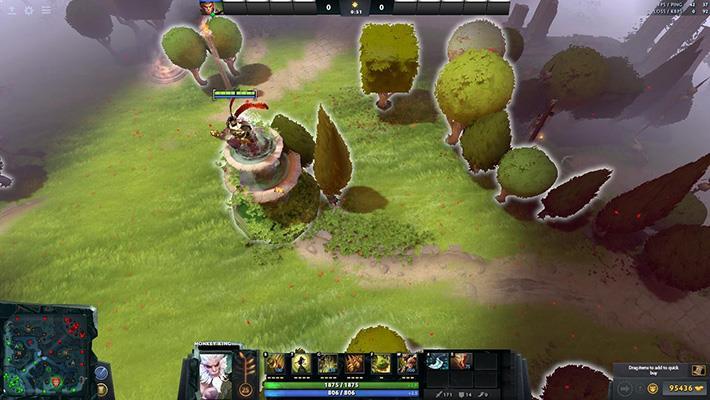 Immortal Garden | Dota 2 Mods