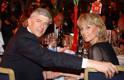 Arsene Wenger And Wife Separate After Five Years of Marriage.