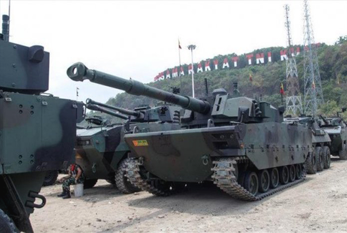 Prototype Tank Medium Pindad-FNSS di Cilegon, Banten 2017