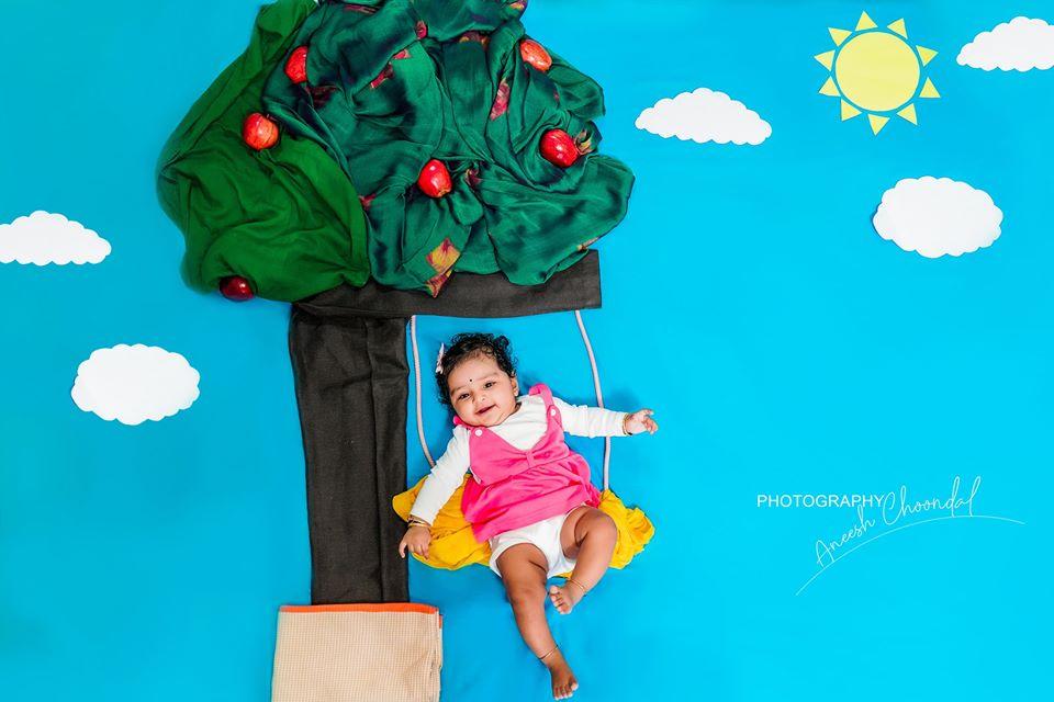 fun  baby photoshoot