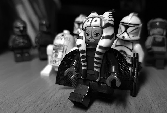 Shaak Ti and Stormtroopers
