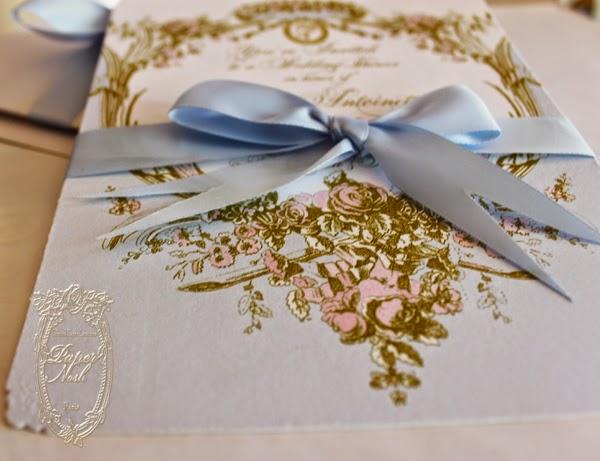 La Pink Paperie The Blog For Paper Nosh Marie Antoinette