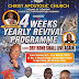 CAC Suleja DCC headquarters set to hold 4weeks annual revival programme