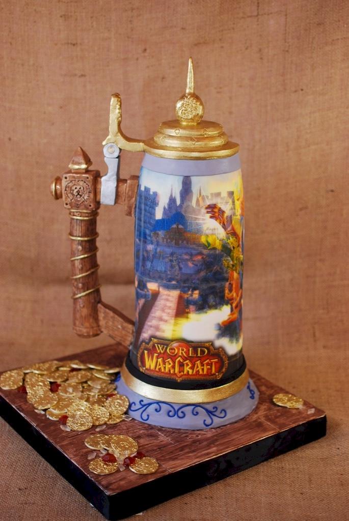 World of Warcraft Stein Cake