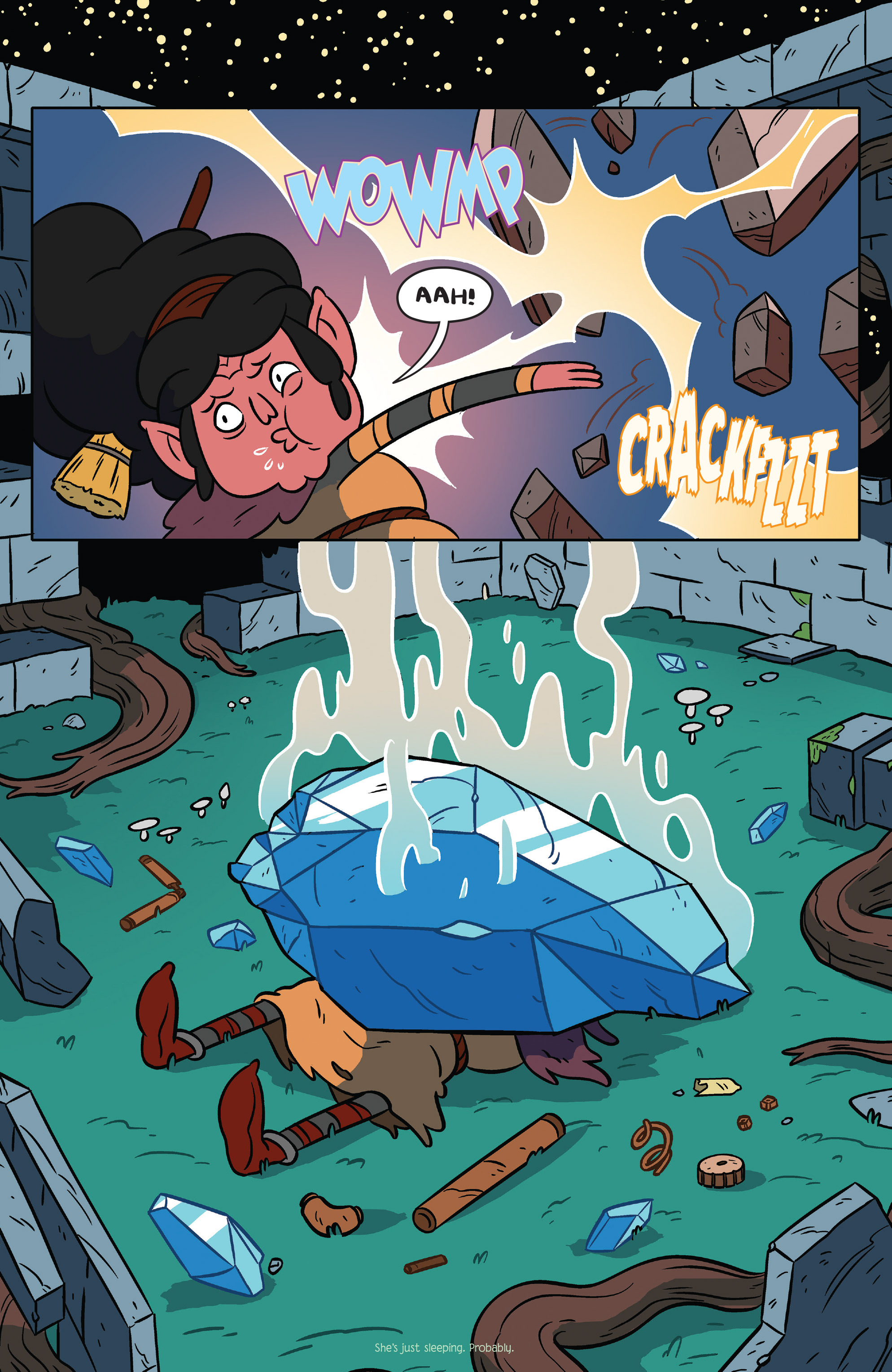 Read online Adventure Time comic -  Issue #36 - 17