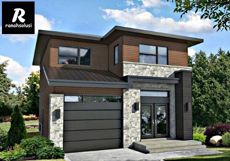 Desain Rumah Minimalis 3 Kamar Tidur 2 Lantai