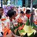 Peringati Tahun Baru Hijriyah 1440 H Ratusan Anak PAUD IT Bina Amal Makan Tumpeng Bersama