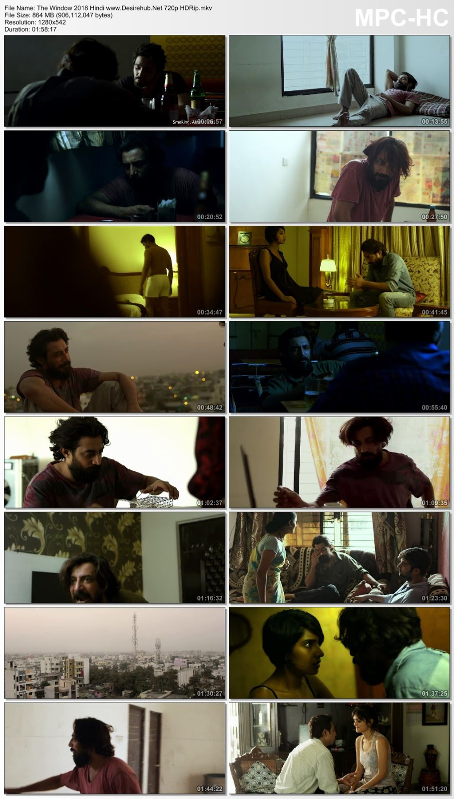 The Window 2018 Hindi 480p HDRip 350MB Desirehub