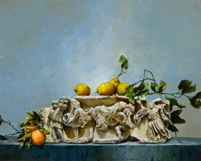 Итальянский художник. Antonio De Chiara
