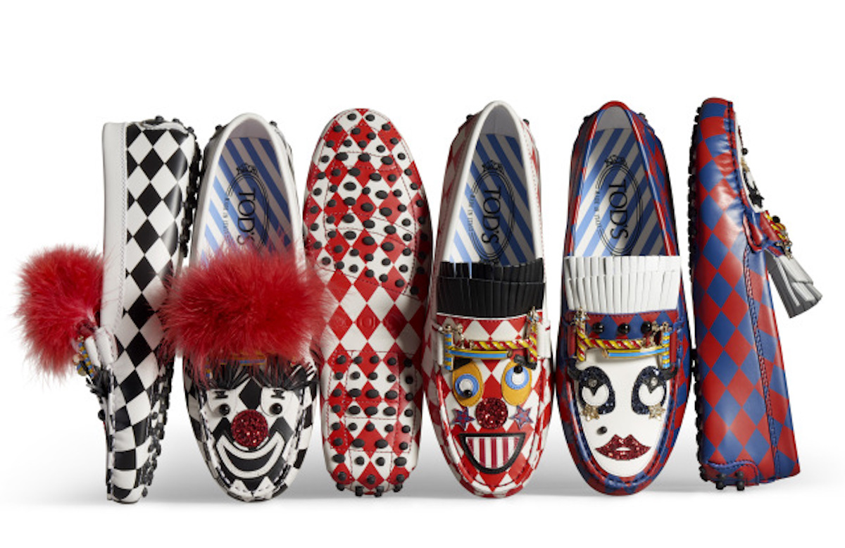 Tod's x Anna Dello Russo Circus-themed Holiday Capsule Collection