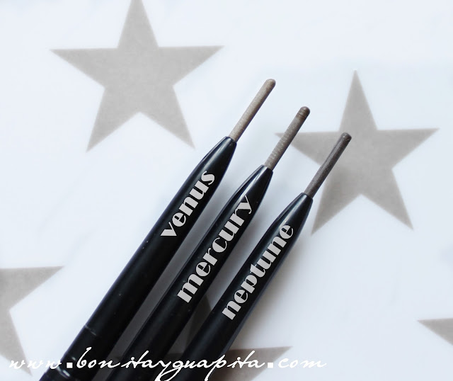 Brow Divine Nabla swatch mercury
