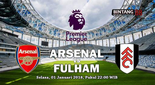 Prediksi Arsenal Vs Fulham 1 Januari 2018
