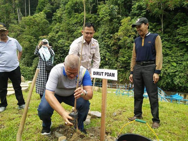 PDAM Padang Jalin Penguatan Komitmen Dengan FT Unand Padang