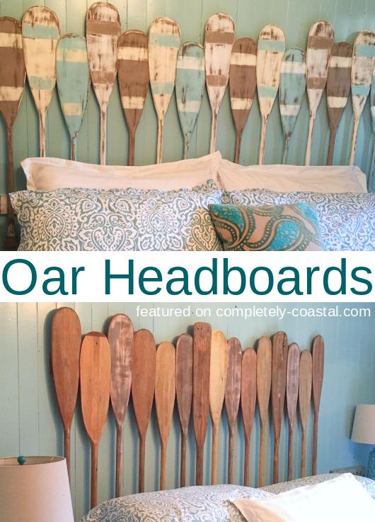 Oar Paddle Headboards