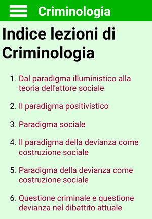 Criminologia App Android