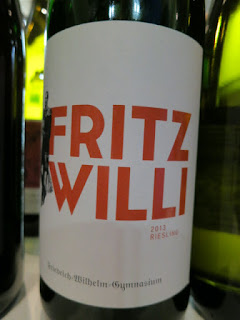 Fritz Willi Riesling 2013 - Mosel, Germany (88 pts)