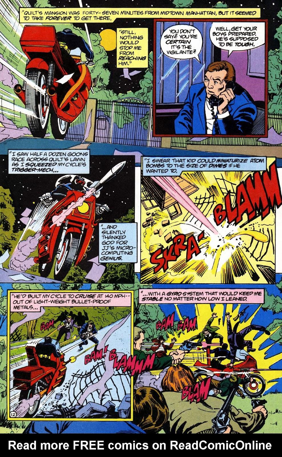 Vigilante (1983) issue 1 - Page 13