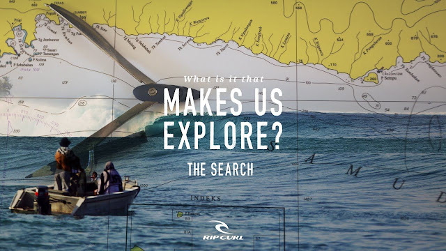 Makes us explore The Search by Rip Curl