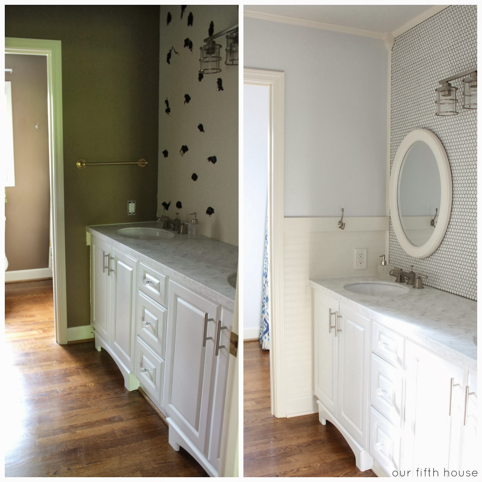 Can I Paint Bathroom Floor Tiles: Our Fifth House: Before & After