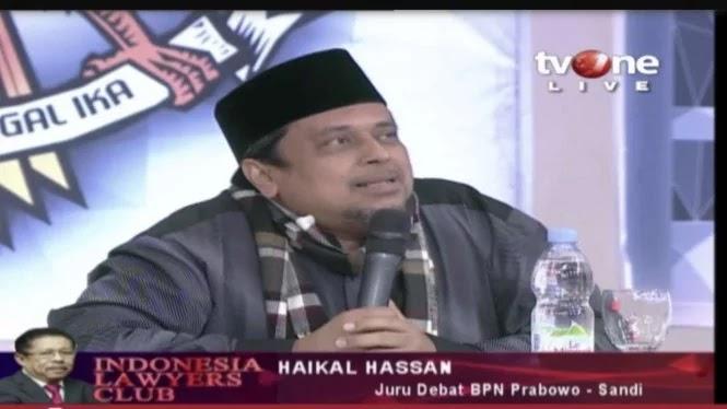 Ustaz Haikal: Prabowo Kampanye 7 Bulan, Jokowi 4,5 Tahun