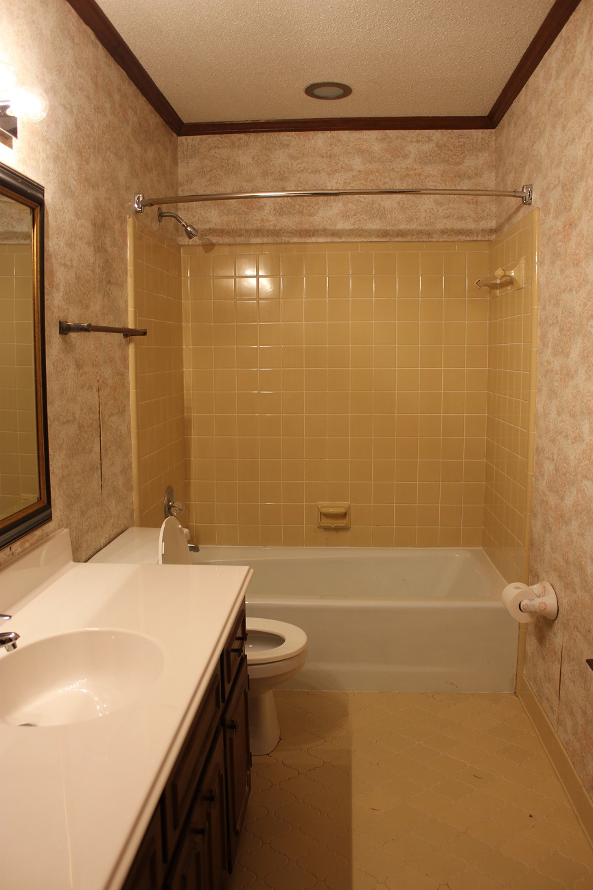 Yellow Tile Bathroom Paint Colors