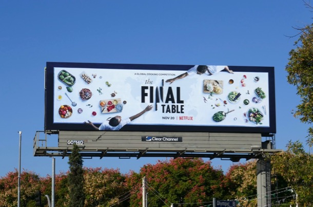 Final Table Netflix series billboard