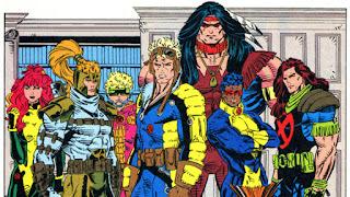 Voila la seconde partie de notre voyages dans l'univers des mutants, en tout cas un voyage vestimentaire^^. Nous allons aujourd'hui nous intéresser aux équipes qui gravitent autour des X-men, voici les séries petites sœurs let's go!!!    Les nouveaux mutants:         X-factor:              X-force/Uncanny X-force:                      Et voila fini pour aujourd'hui, la prochaine fois on fera un petit tour vers les versions parallèles des x-men. A bientôt!!! cable sunfire sunspot cannonball rhané felina warpath madrox shaterster guydo polaris domino boomboom warlock