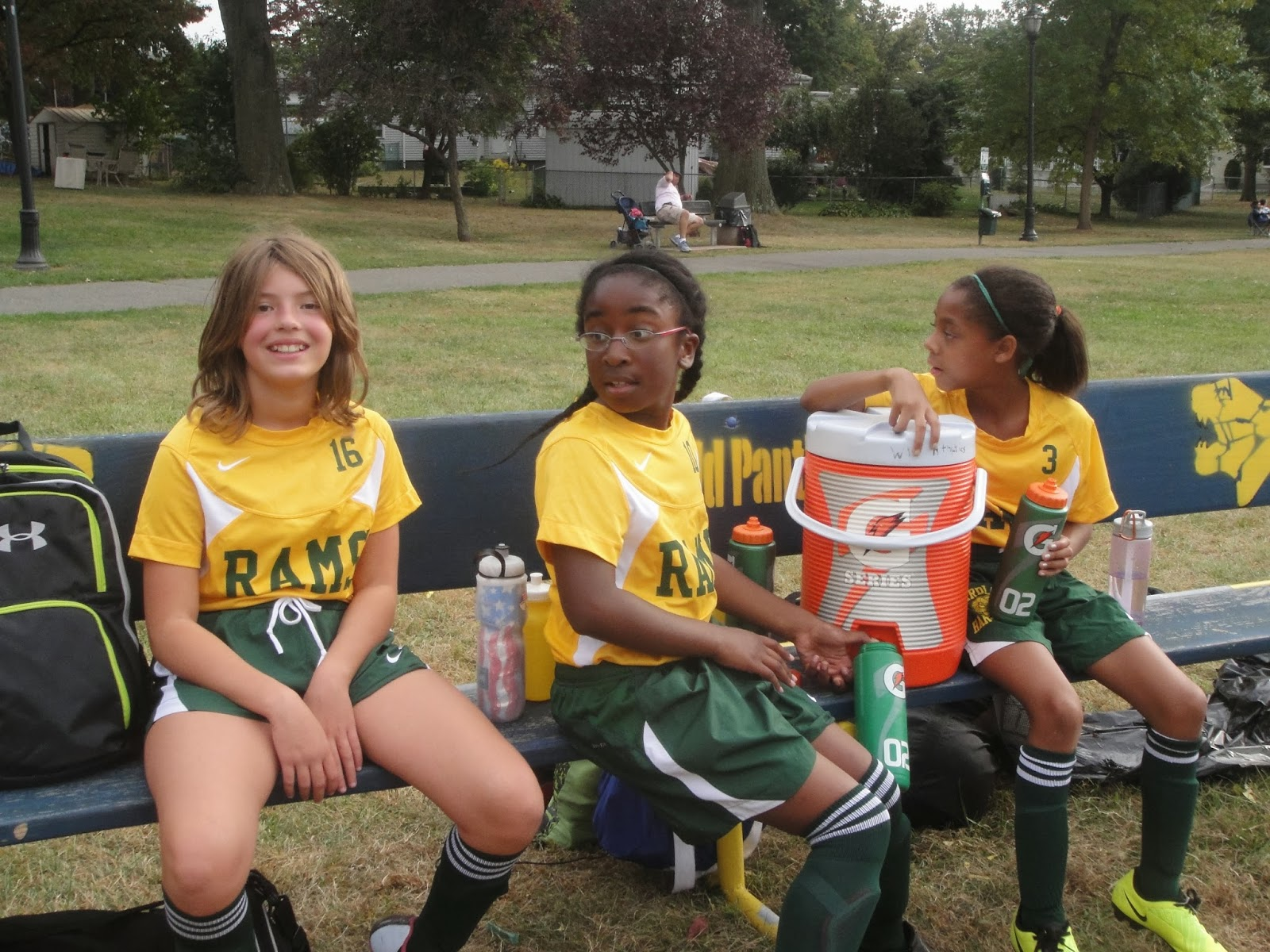 Middle School Girls Soccer Vs Winfield Park
