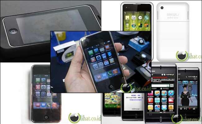 5 Handphone yang Meniru bahkan Menyamai desain iPhone