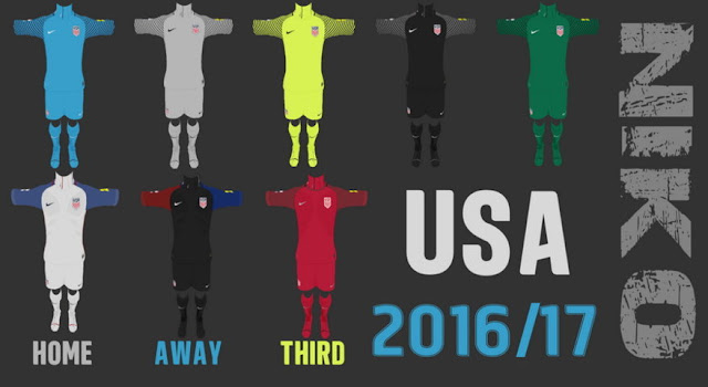 USA 16/17 Kit PES 2013