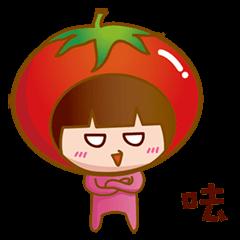 Cute tomato girl 2