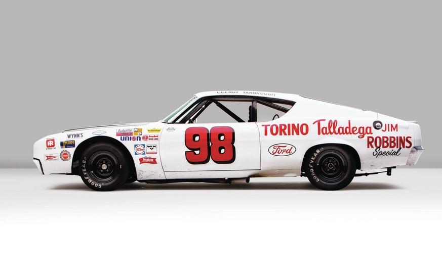 Ford Torino Talladega Racing Version Side View