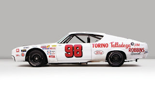 1969 Ford Torino Talladega Racing Version Side View