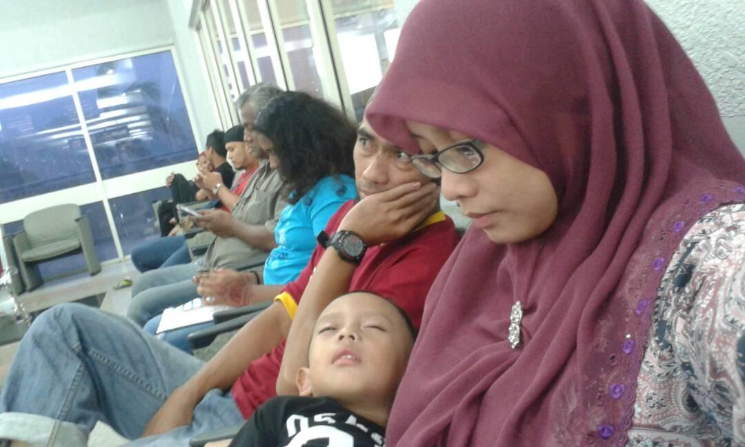 Wordless Wednesday | Seharian di Hospital Putrajaya