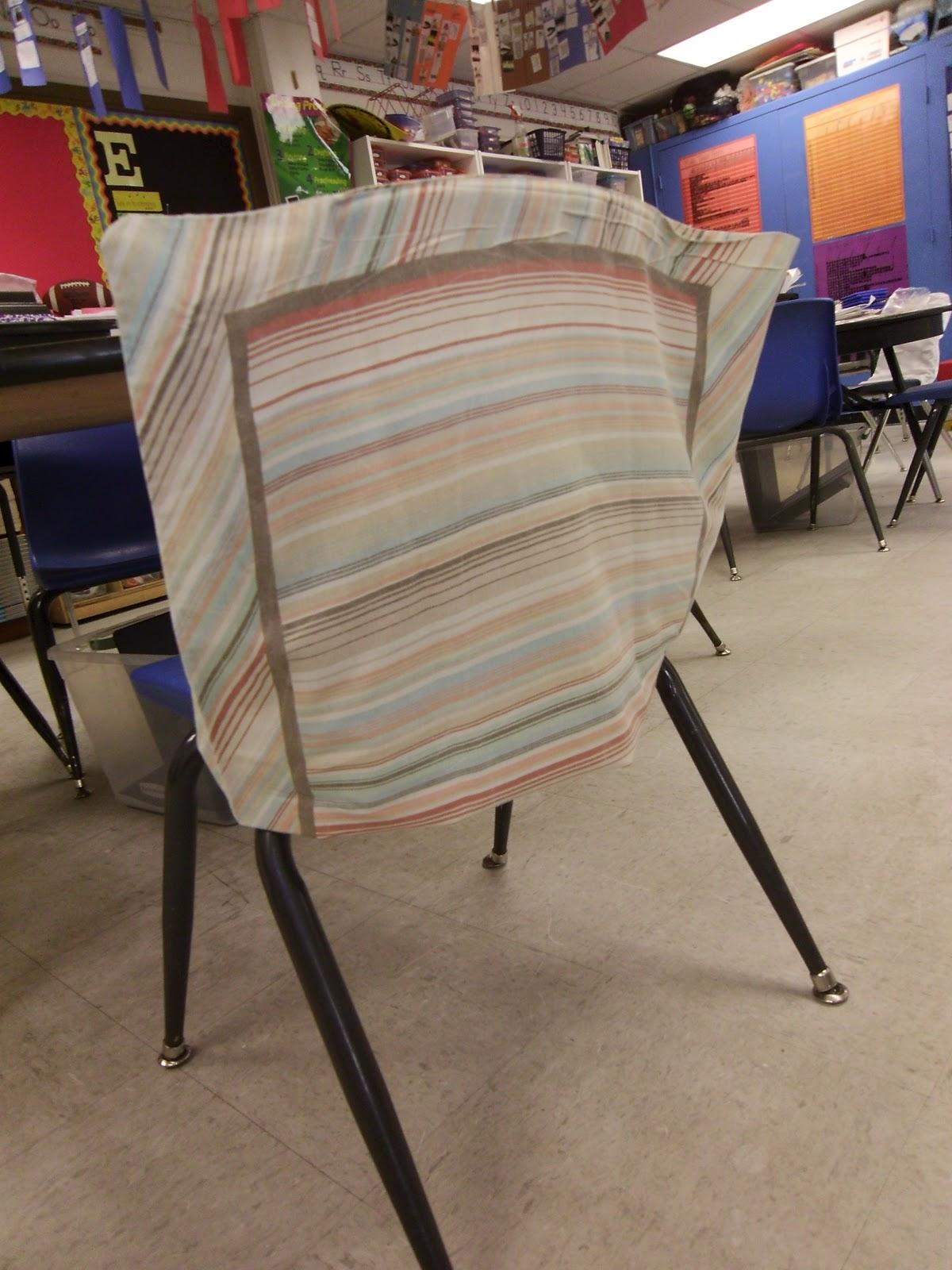 No Sew Chair Pockets Hanging Revit The Pinterest Diaries Pillowcase