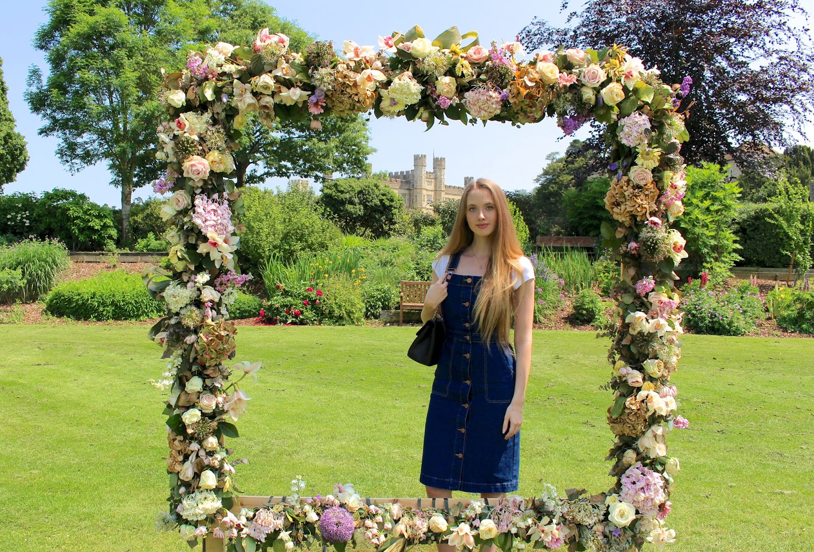 The Chelsea Fringe Floral Frame at Leeds Castle