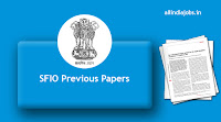 SFIO Previous Papers