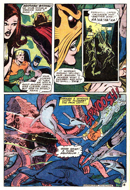 Brave and the Bold v1 #82 dc comic book page art by Neal Adams