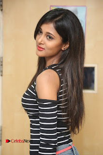 Actress Sushma Raj Pictures in Jeans at Radio City 91.1 FM for Eedu Gold Ehe Movie Promotion  0132.JPG