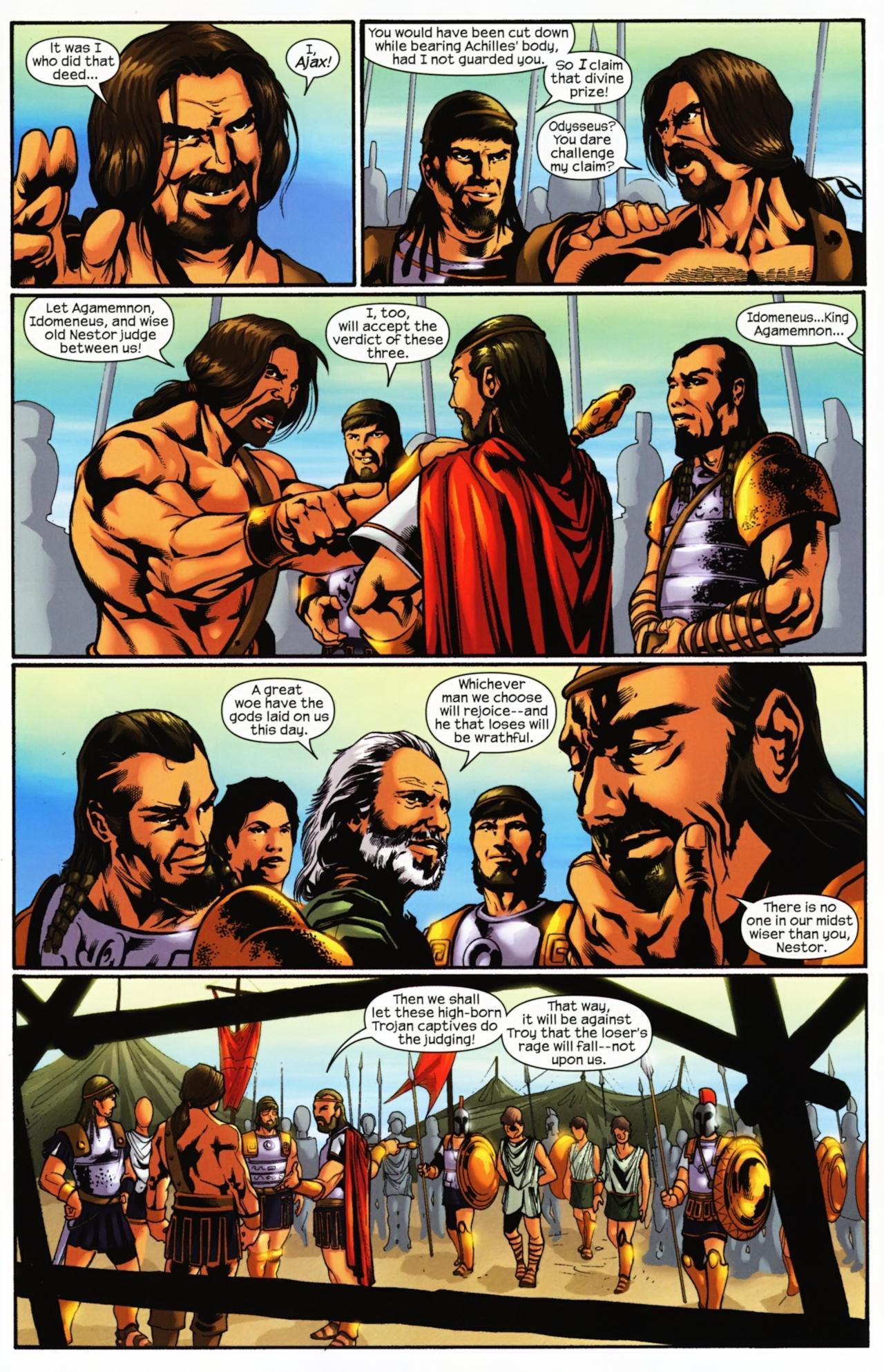 Read online Trojan War comic -  Issue #4 - 5