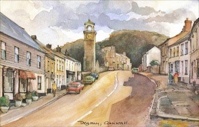 Postcard of Tregony, Cornwall, England