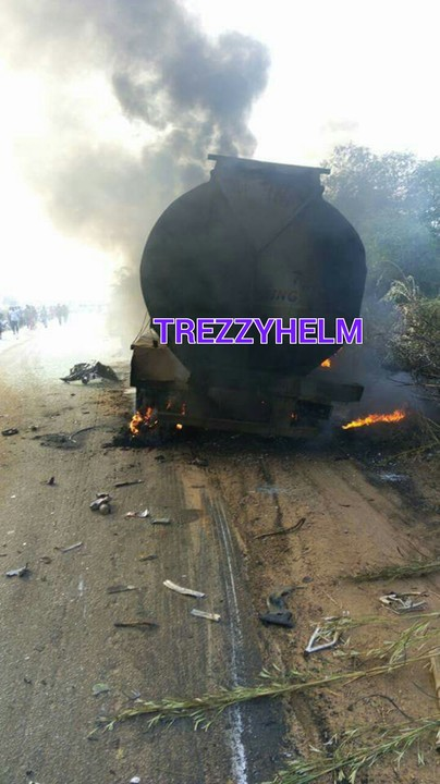 Ghastly Motor Accident Burn People Beyond Recognition In Delta