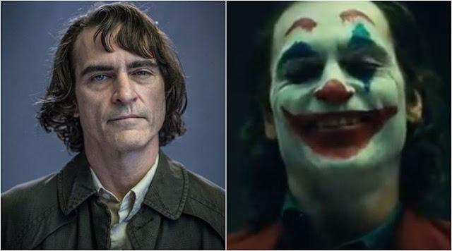 خواكين فينيكس في أول ظهور لشخصية فيلم Joker بمكياج عادي لكن بضحكة الأكثر شراً في تاريخ شخصية الجوكر