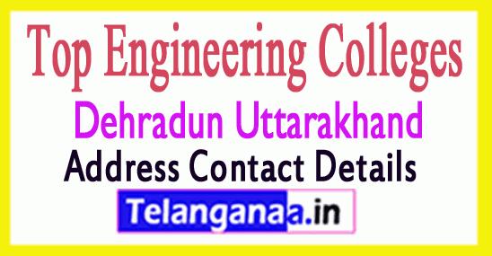 Top Engineering Colleges in Dehradun Uttarakhand