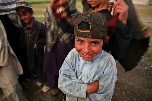 poor children in urban areas