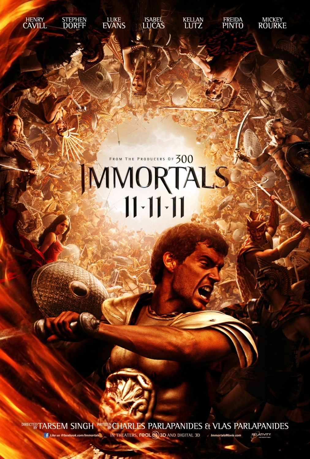 Immortals (2011) ταινιες online seires oipeirates greek subs