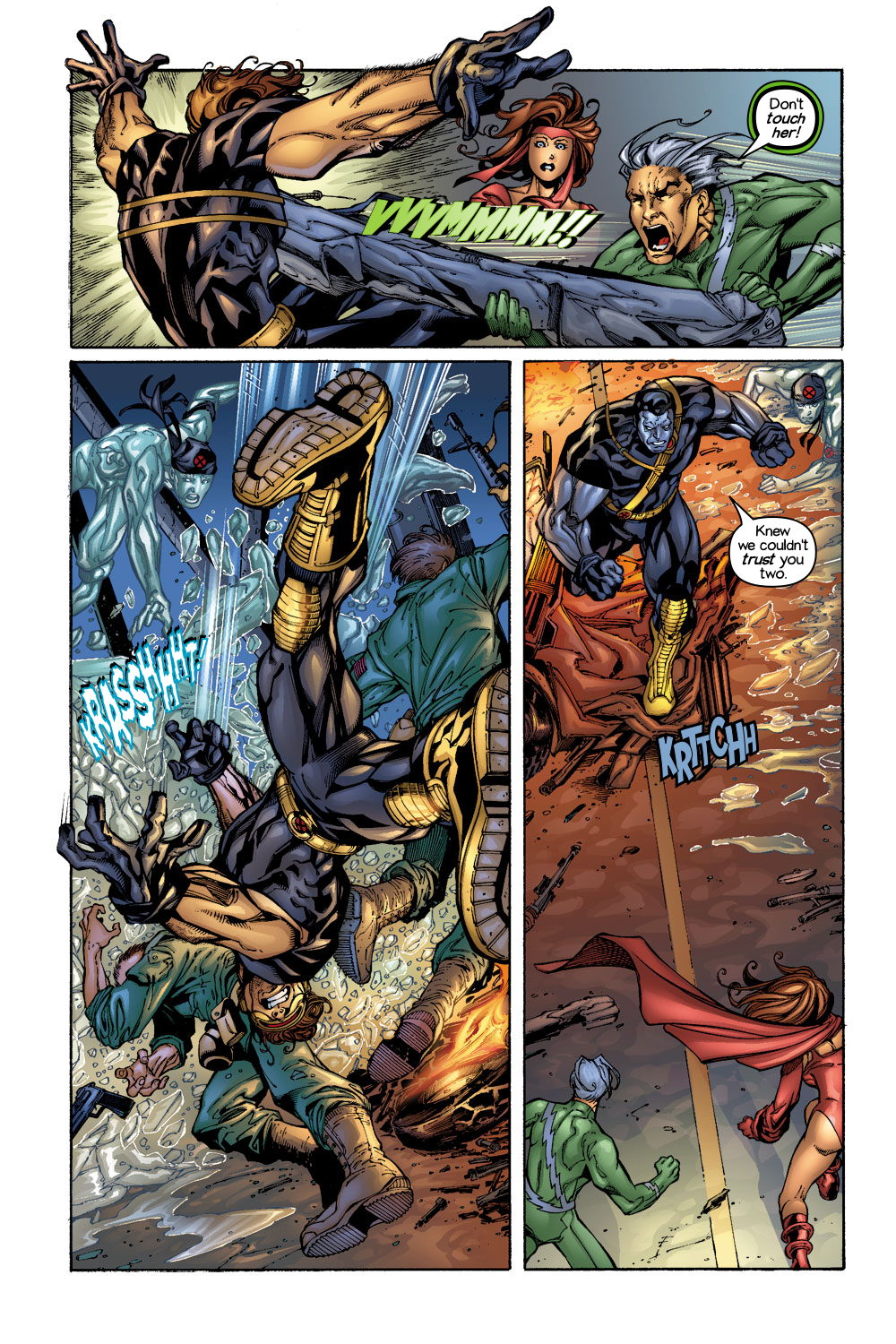 Read online Ultimate X-Men comic -  Issue #1/2 - 7