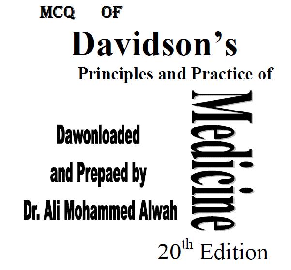 Davidson Mcqs Pdf