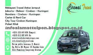 Jadwal Travel Ciremai Trans Jakarta Cirebon Terbaru