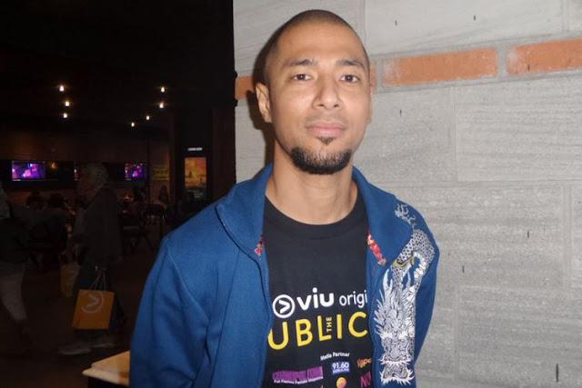 Marcell Siahaan hadir dalam acara rilis film The Publicist di CGV Grand Indonesia, kawasan Thamrin, Jakarta Pusat